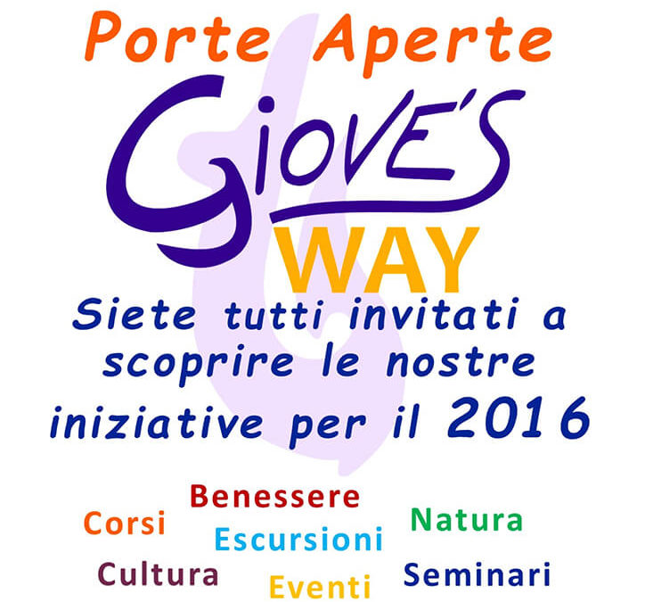 Open Day 2016 - Giove's Way