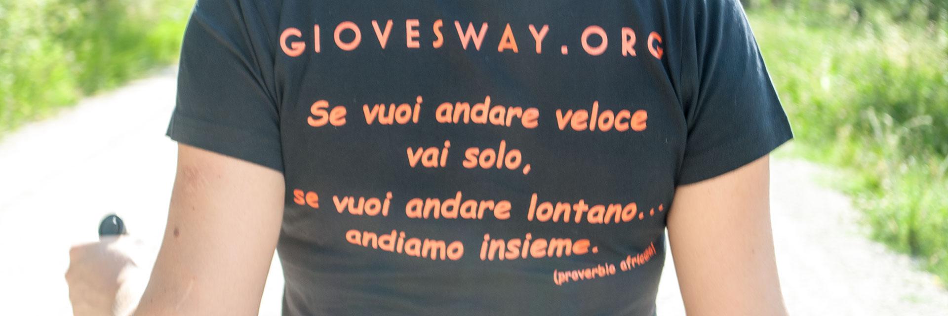 Partecipa alle iniziative di Giove's Way!