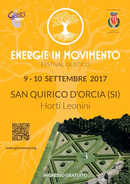 Energie in Movimento - Festival Olistico - 9-10 Settembre 2017