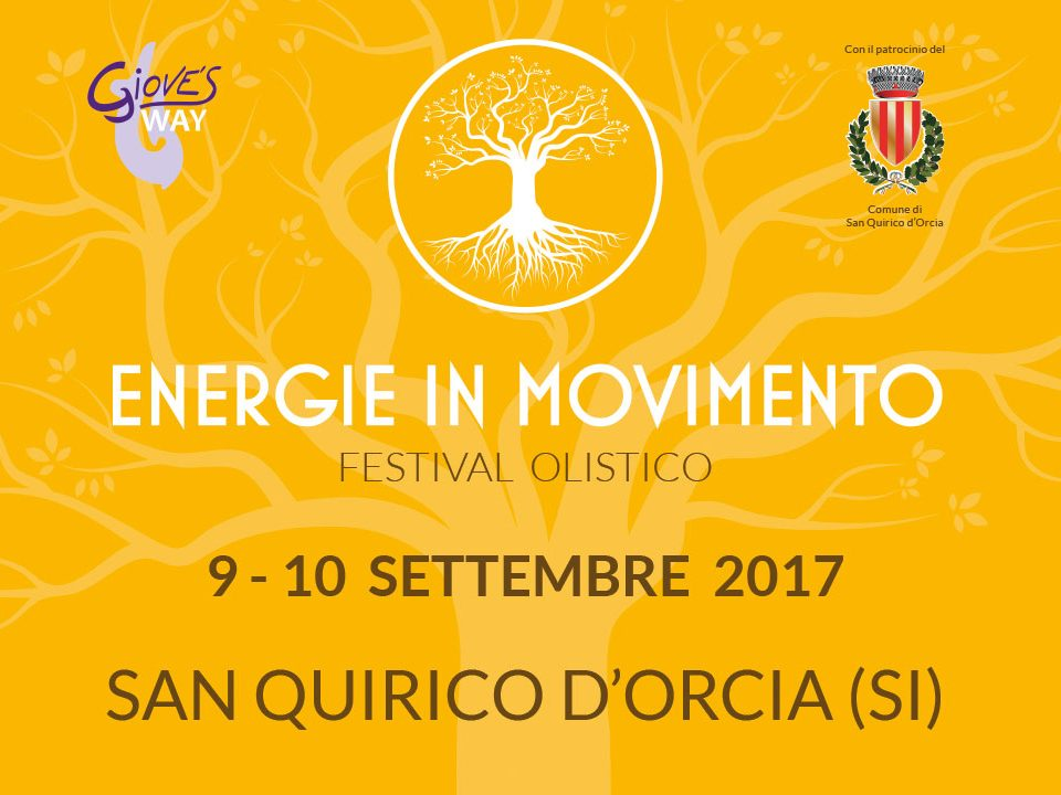 Energie per esprimere noi stessi - Energie in Movimento 2017