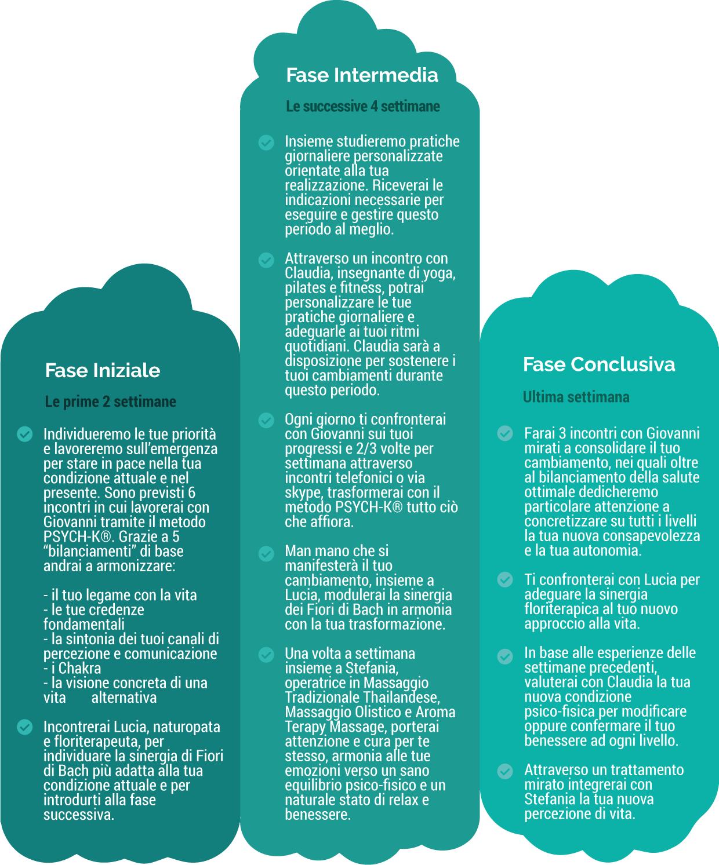 Infografica Percorso di Rinascita Integrato