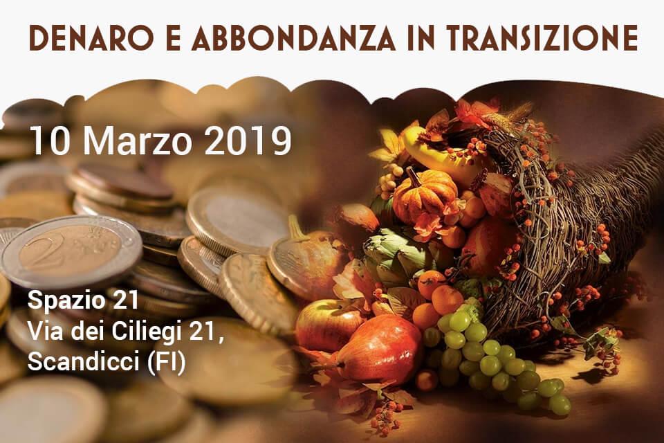 DAT - Denaro e Abbondanza in Transizione - 09 Dicembre 2018 - Centro culturale Paragrano - Orbetello (GR)